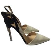 Jimmy Choo White patent heels
