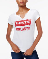 Levi's City Graphic Split-Neck T-Shirt
