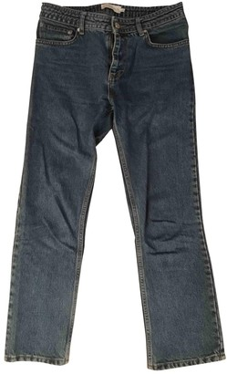 Sincerely Jules Blue Cotton Jeans for Women