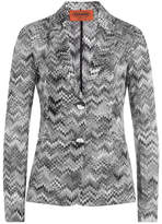 Missoni Chevron Knit Blazer