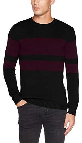 Benetton Men's Longsleeve Sweater Sweatshirt,X-Large