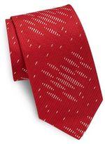 Armani Collezioni Cotton-Blend Tie