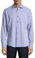 Bogosse Printed Button-Down Shirt
