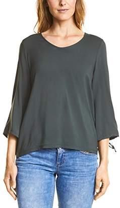 Street One Women's 312263 Longsleeve T-Shirt, (White 10000), 16 (Size:)