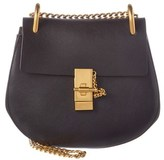 Chloé Drew Small Leather Shoulder Bag.