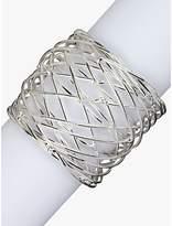 John Lewis Nest Napkin Ring, Set of 4