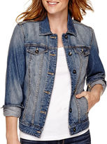 ST. JOHN'S BAY St. John's Bay Denim Jacket