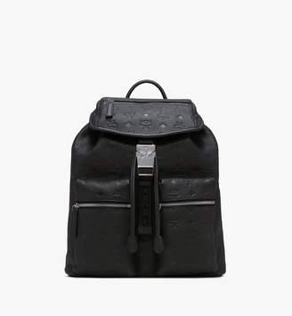 MCM Tivitat Two-pocket Backpack In Monogram Leather