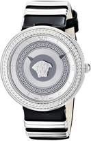 Versace Women's VLC010014 V-METAL ICON Stainless Steel Watch with Two-Tone Band