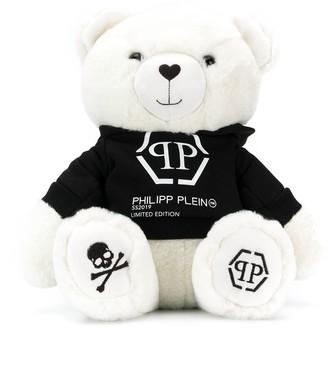 Philipp Plein Junior Logo Print Teddy Bear