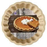 Wilton Wave Pie Pan Gold