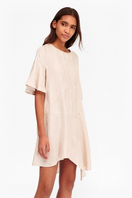 French Connection Palm Crepe Swing Dress