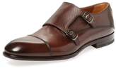 Antonio Maurizi Cap-Toe Leather Double Monkstrap