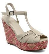 Georgia Rose Women's Farto Wedge heel Sandals - Various Colours