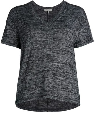 Rag & Bone V-Neck Knit T-Shirt