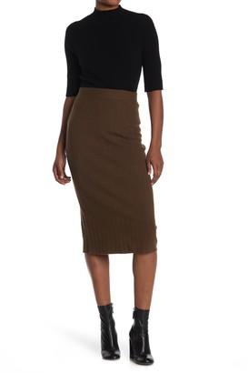 Just Madison Ribbed Skirt