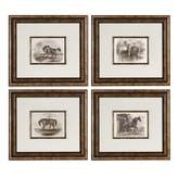 Uttermost 19 Inches Wall Art (Set of 4)