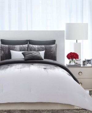 Vince Camuto Home Vince Camuto Lyon King 3 Piece Comforter Set Bedding