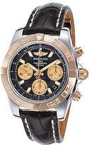 Breitling CB014012-BA53-729P Men's Chronomat 41 Auto Black Genuine Leather