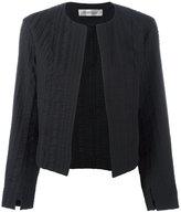 Sportmax textured cropped jacket - women - Cotton/Ramie/Spandex/Elastane - 40