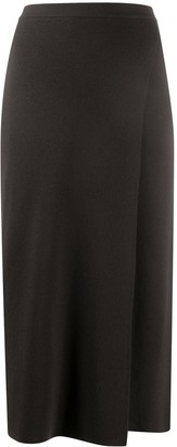 Sminfinity Straight Fit Wrap-Style Skirt