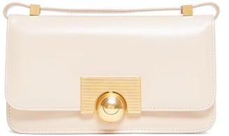 Bottega Veneta The Classic Mini Leather Shoulder Bag - Beige