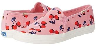 Keds x kate spade new york Double Decker Cherry Canvas (Pink Multi Canvas) Women's Shoes