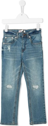 Levi's Distressed Slim Fit Jeans