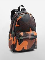 Calvin Klein Womens Domed Backpack Ox Blood Camo