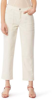 Habitual Delia Straight Leg Utility Crop Jeans