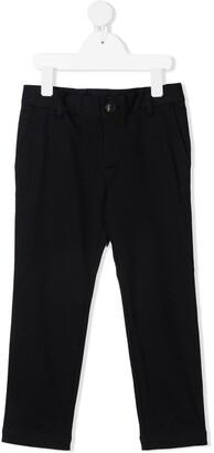 Emporio Armani Kids Straight-Leg Trousers