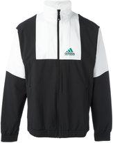 adidas zipped sports jacket - men - Nylon/Spandex/Elastane - XS