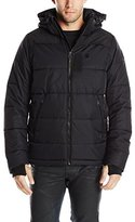 G Star Men's Whistler Hooded Jacket In Altitude Herringbone Nylon
