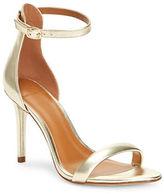 H Halston Alison Metallic Open Toe Sandals