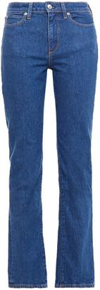 Simon Miller High-rise Straight-leg Jeans