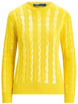 Ralph Lauren Sequin Silk Knit Crewneck Sweater