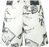 Riz Boardshorts - Buckler Short swimming shorts - men - Recycled Polyester - 30
