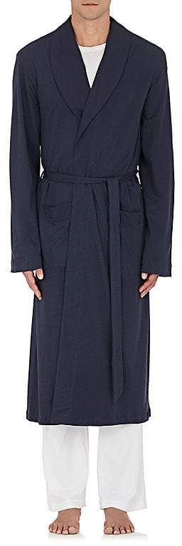 Hanro Men's Cotton Long Robe
