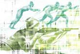 Parvez Taj Biathlon Canvas Wall Art