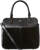 Orla Kiely Scallop Pocket Leather Jeanie Bag - Black