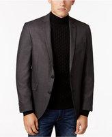 Kenneth Cole Reaction Men's Slim-Fit Black/Gray Micro-Check Sport Coat