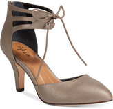 Style&Co. Style & Co Women's Vanaa Lace-Up Pumps, Created for Macy's Women's Shoes