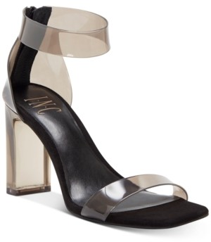 INC International Concepts Inc Women's Makenna Two-Piece Dress Sandals, Created for Macy's Women's Shoes