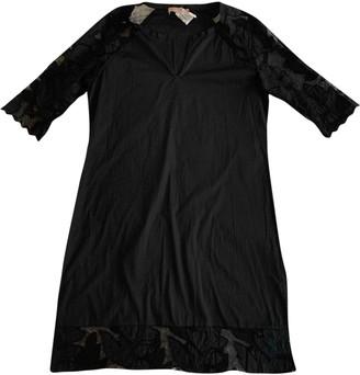 81 Hours 81hours Black Cotton - elasthane Dress for Women