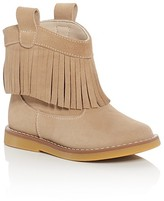 Elephantito Girls' Fringe Booties - Walker, Toddler