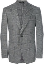 Tom Ford houndstooth pattern blazer