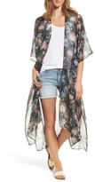 BCBGMAXAZRIA Women's Rose Romance Duster Jacket
