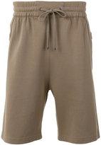 Helmut Lang bound seam shorts - men - Cotton/Nylon/Viscose - M