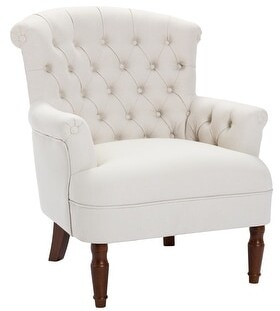 Corvus Sidmouth Tufted Fabric Oversized Club Chair