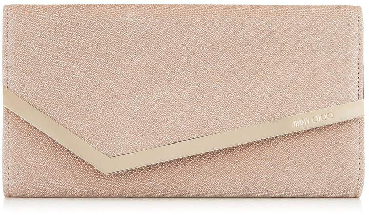 Jimmy Choo Leather Emmie Clutch Bag